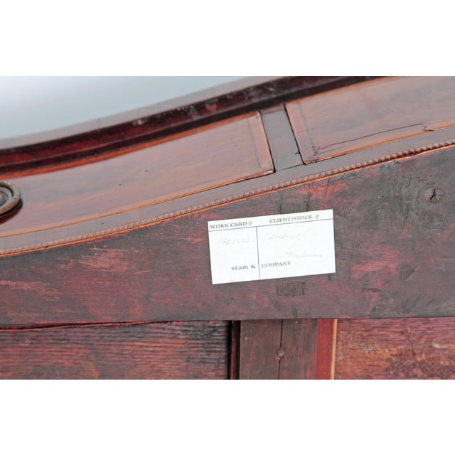 George III 18th Century Hepplewhite Style Mahogany Sideboard For Sale In Dallas - Image 6 of 12