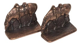 Image of Horse Bookends
