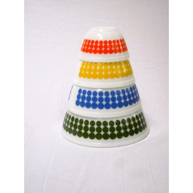 Pyrex Dots Mixing Bowls - Set of 4 - Image 4 of 7