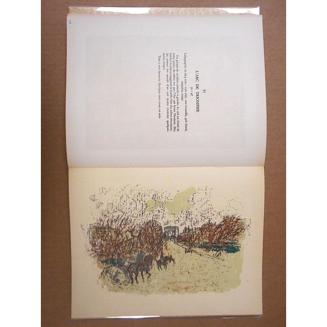 """Lithograph Vintage Mid Century Illustrated Book-""""Bonnard Lithographie""""-First Edition-Profusely Illustrated For Sale - Image 7 of 12"""