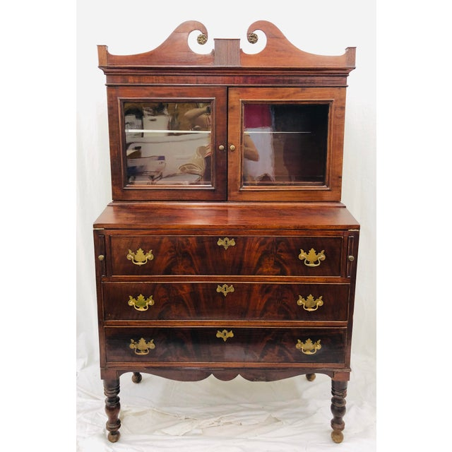 Antique Secretary Cabinet For Sale - Image 13 of 13