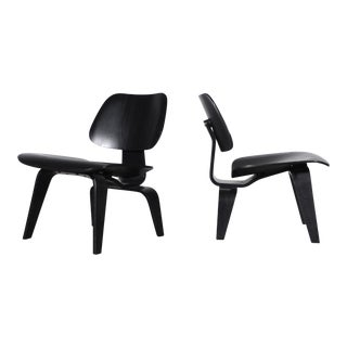 LCW Chairs by Charles & Ray Eames for Herman Miller - a Pair For Sale