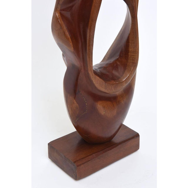 Abstract Expressionist Wood Sculpture, Raul Varnerin For Sale - Image 4 of 10