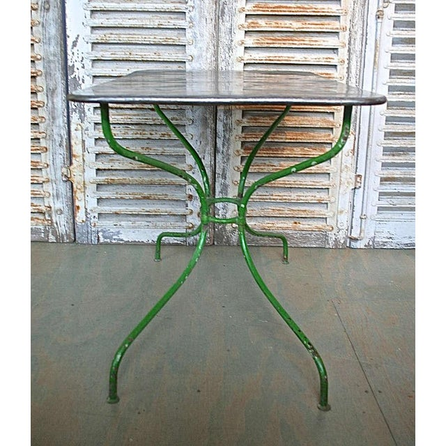 Early 20th Century French Garden Table For Sale - Image 4 of 9