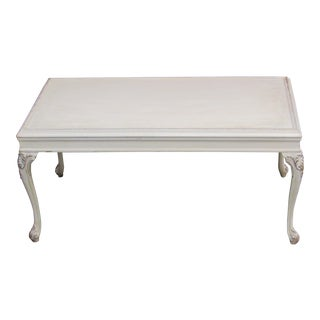 Vintage French Provincial Petite ReMix'd Coffee Table For Sale