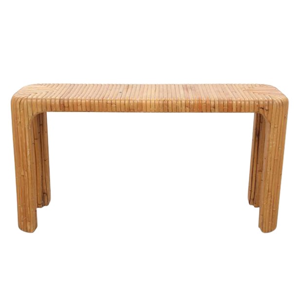 Bamboo Hall Table - Image 1 of 5