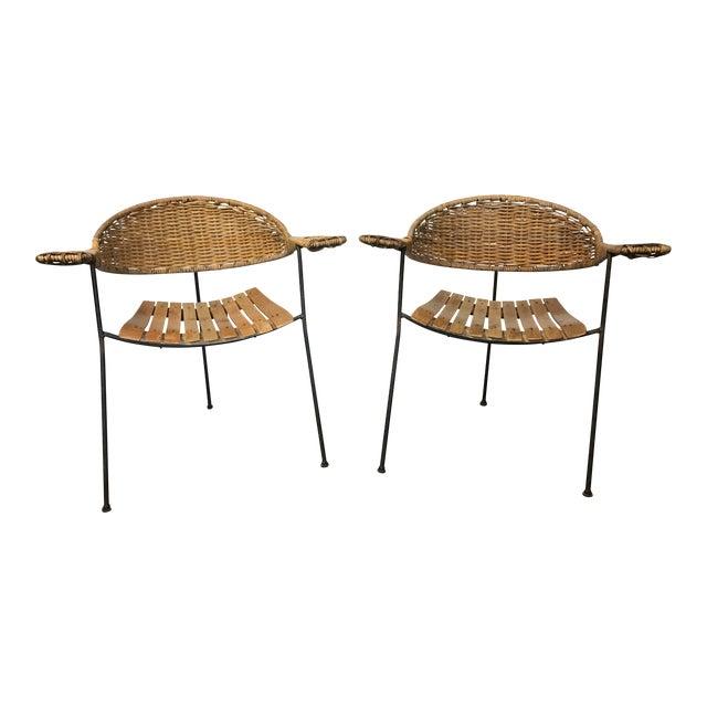 Mid-Century Arthur Umanoff Chairs - A Pair - Image 1 of 5