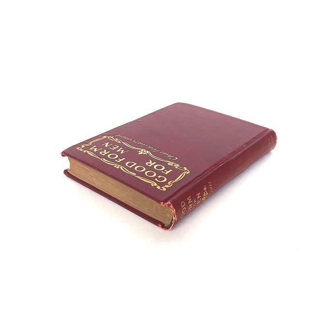 Victorian Antique Victorian Etiquette Book for Men For Sale - Image 3 of 13