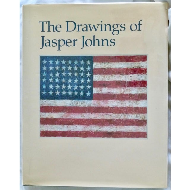 Cream The Drawings of Jasper Johns Book For Sale - Image 8 of 8