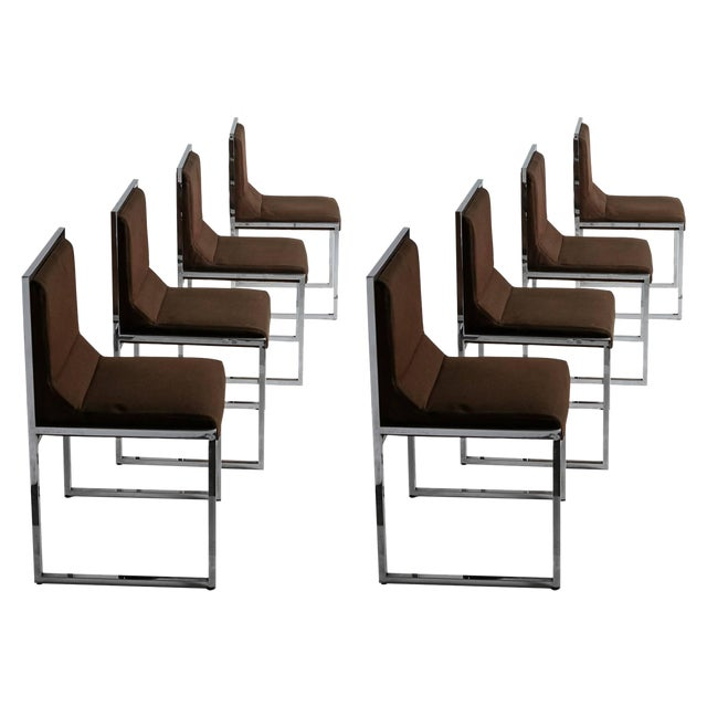 """Unique Set of Six """"Wright/Wright"""" Chairs by Nanda Vigo for Driade For Sale"""
