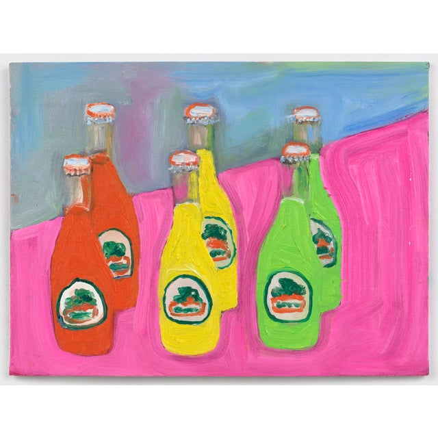 """""""Sodas"""" Oil Painting For Sale - Image 4 of 4"""