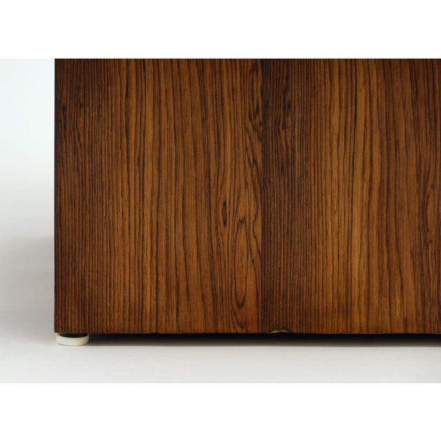 Cubist French Wood Side Table For Sale - Image 10 of 11