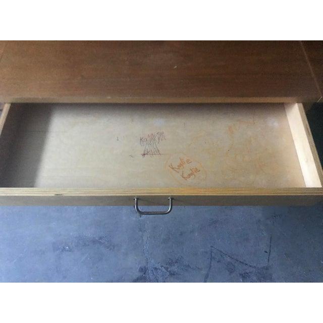 Danish Modern Wooten Style Secretary Desk For Sale - Image 9 of 11