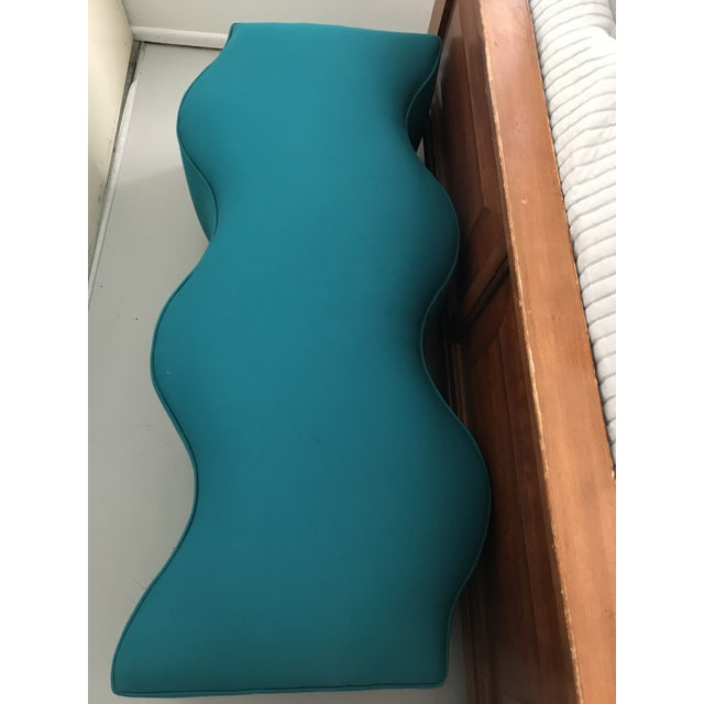 Mid Century- Modern Coalesse Style Ripple Bench For Sale - Image 10 of 13