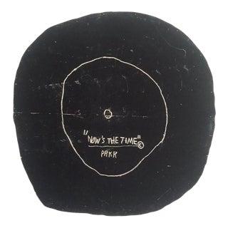"""Jean Michel Basquiat Estate Fine Art Lithograph Pop Art Print """" Now's the Time """" 1985 For Sale"""