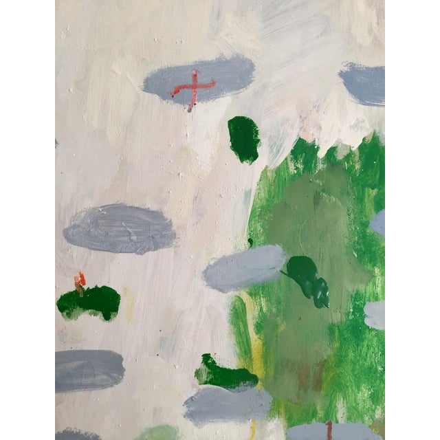 2010s Fresh Abstract Expressionist Painting by Ana Cano Brookbank For Sale - Image 5 of 6