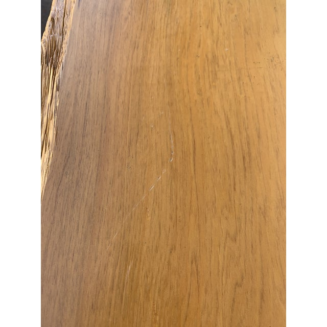 Studio Craft Pecky Cypress Table For Sale - Image 10 of 11