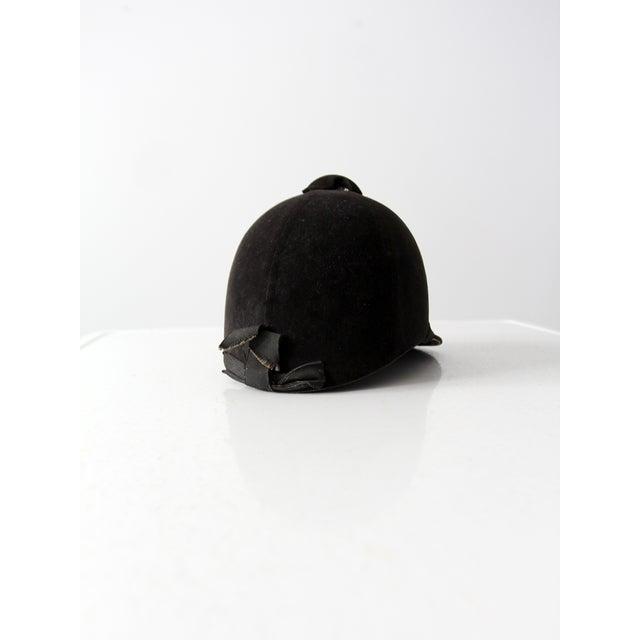 Vintage Equestrian Hat For Sale - Image 4 of 8