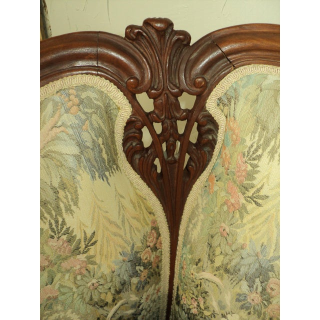 Antique French Provincial Sofa & Chair - A Pair - Image 8 of 11