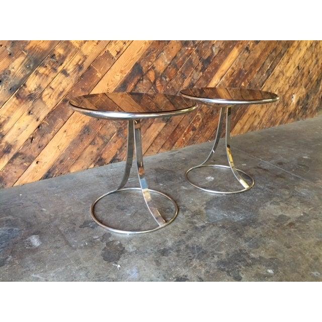 Gardner Leaver for Steelcase Side Tables - Pair - Image 5 of 7