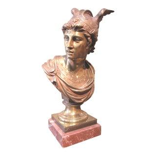 Mercury God of Speed Bronze Statue For Sale