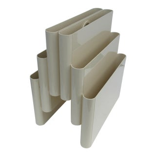 1970's Giotto Stoppino for Kartell Magazine Holder For Sale
