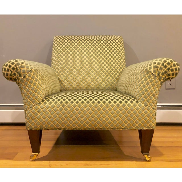 English George Smith Butterfly Chairs- A Pair For Sale - Image 3 of 8