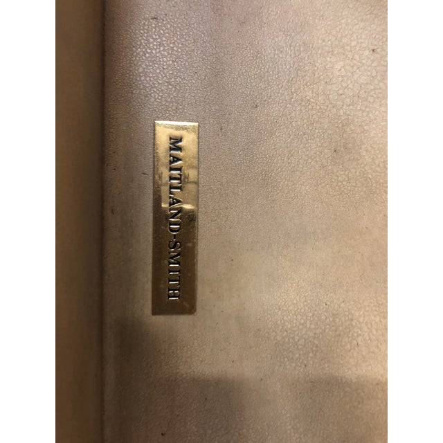 Maitland Smith Leather Top Chest For Sale In Atlanta - Image 6 of 8