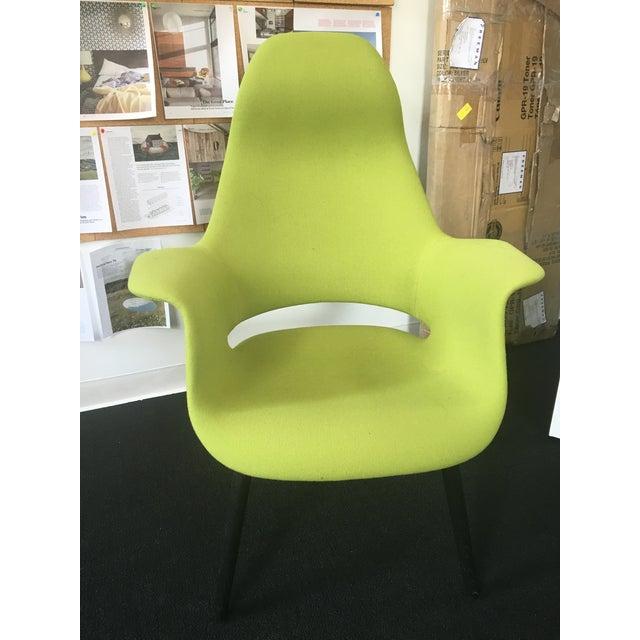 Eero Saarinen and Charles Eames Highback Organic Chair - Image 2 of 3