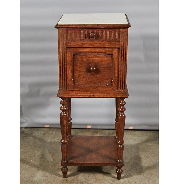 Henry II Style Night Stand For Sale - Image 4 of 8