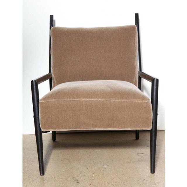 1950s Vintage Paul McCobb 3082-E Planner Group Ebonized Lounge Chair For Sale - Image 11 of 12