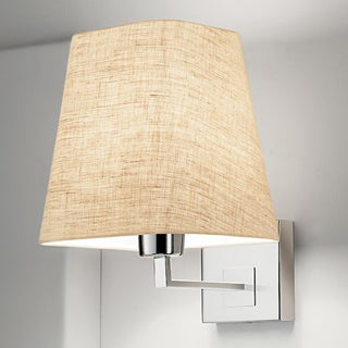 Project Polished Chrome Wall Light With Shade Preview