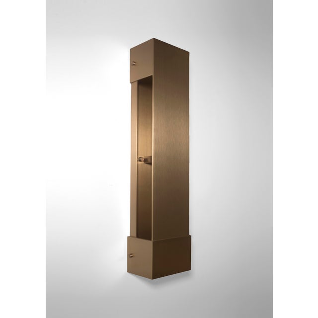 Modern Contemporary 001 Picture Light in Brass by Orphan Work For Sale In New York - Image 6 of 6