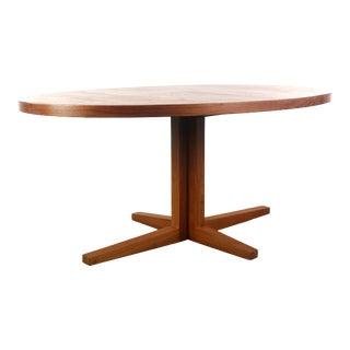 John Mortensen for Heltborg Mobler Dining / Conference Table in Teak For Sale