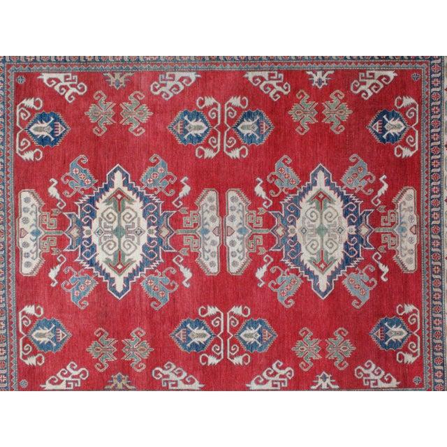 "Leon Banilivi Kazak Carpet - 8'6"" X 10'2"" For Sale In New York - Image 6 of 8"