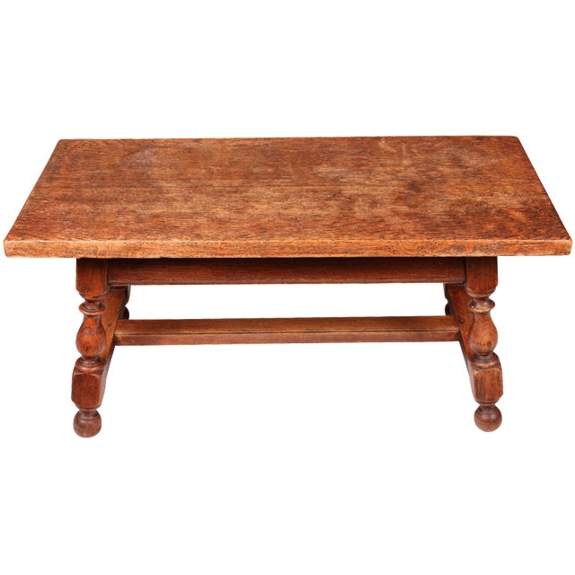 19th c oak table or bench chairish for Table th width