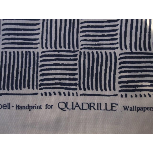 "Contemporary Alan Campbell for Quadrille's ""Textura I"" in China Seas French Blue Fabric - 8 Yards For Sale - Image 3 of 5"