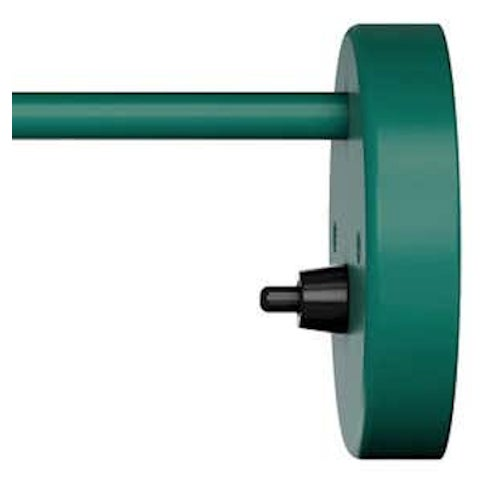 Not Yet Made - Made To Order Arne Jacobsen AJ Wall Light for Louis Poulsen in Dark Green For Sale - Image 5 of 6