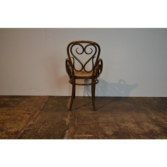Pair of Bentwood Chairs For Sale - Image 4 of 5
