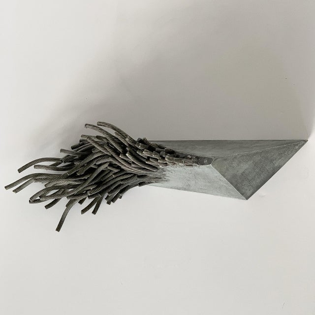 Metal Bella Feldman Abstract Sculpture, Out of Egypt For Sale - Image 7 of 12