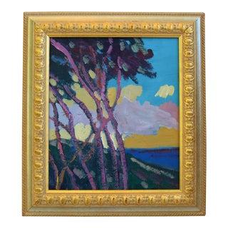 Original Juan Pepe Guzman Santa Barbara Landscape/Seascape Oil Painting For Sale