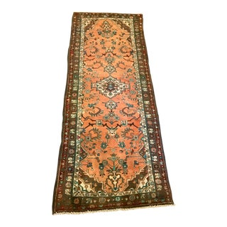 "Vintage Persian Sarouk Runner - 3'5"" X 9'9"" For Sale"