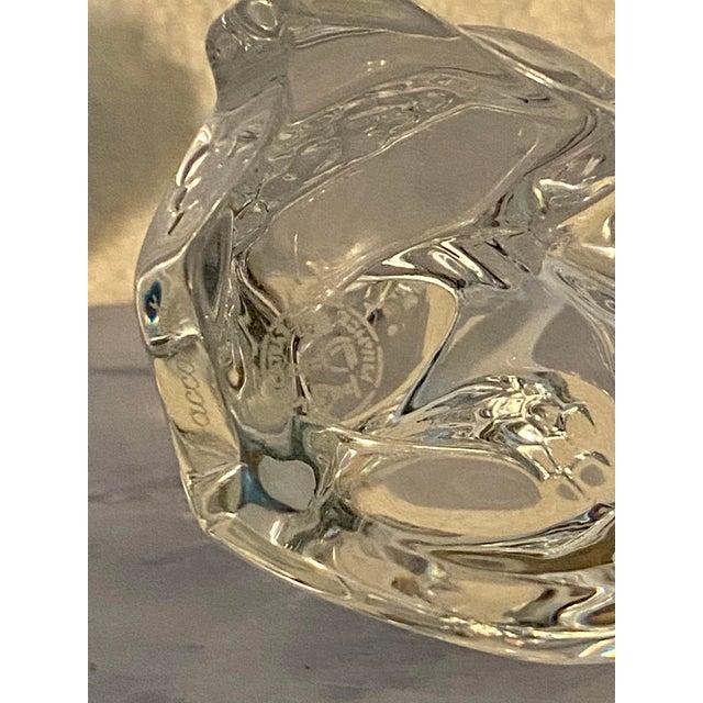 Vintage Baccarat Crystal Snake For Sale In Saint Louis - Image 6 of 8