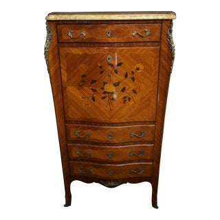 19th Century Louis XV French Secretaire For Sale