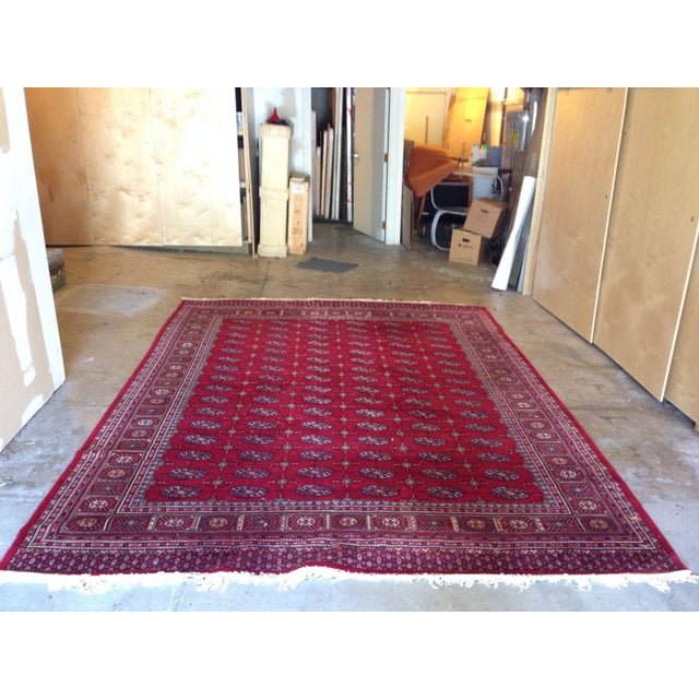 """Hand Knotted Wool Rug - 8'3"""" x 10'9"""" - Image 2 of 4"""