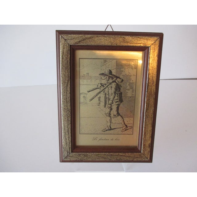 Petite French Print With Legend For Sale In Miami - Image 6 of 6