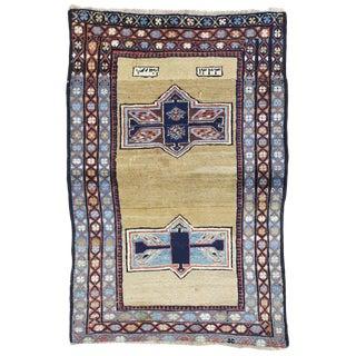 20th Century Persian Azerbaijan Rug - 3′6″ × 5′2″ For Sale