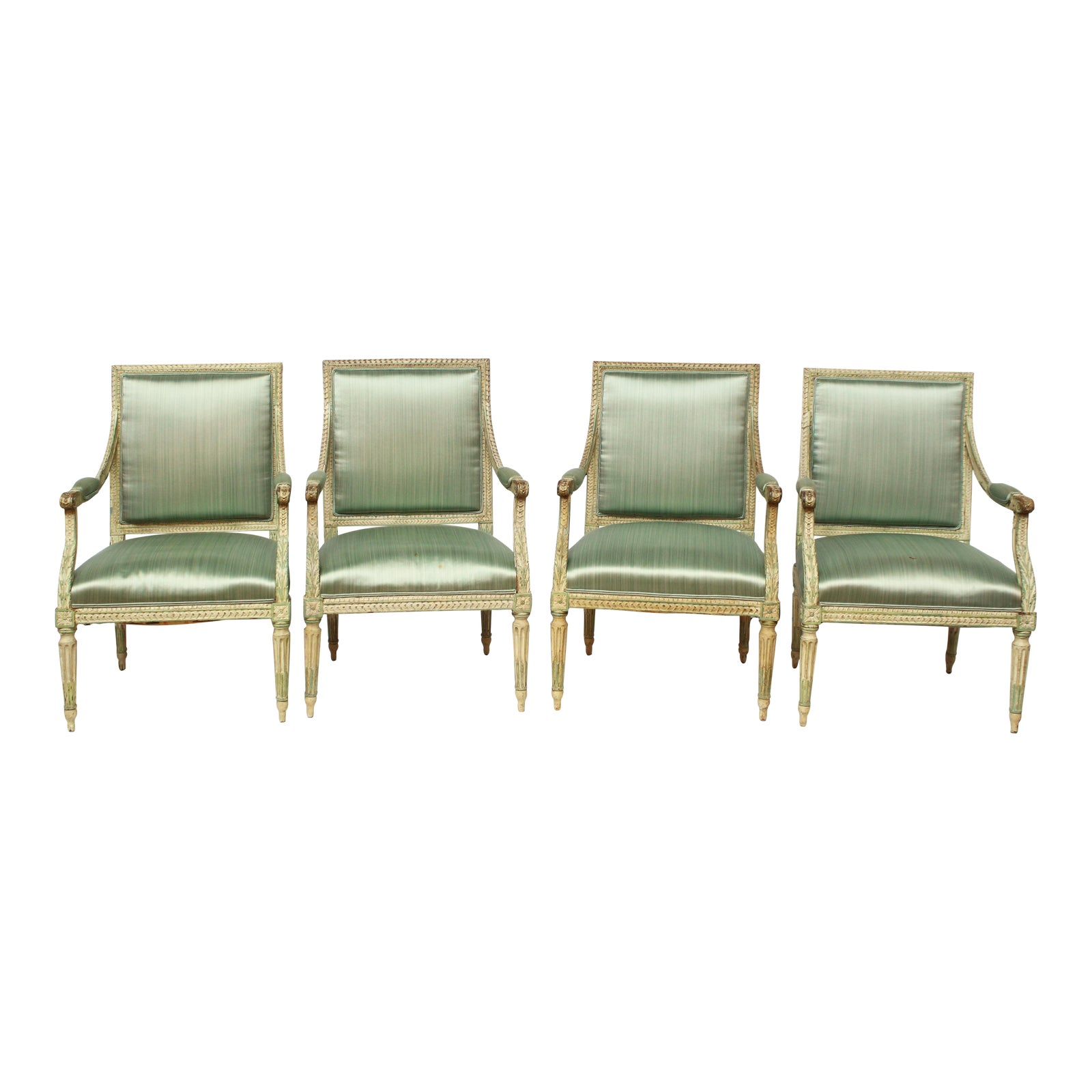 2 Oor Fauteuils.Louis Xvi Fauteuils Set Of Four Or Two Pairs