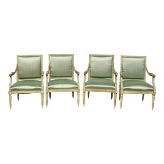 Louis XVI Fauteuils, Set of Four or Two Pairs