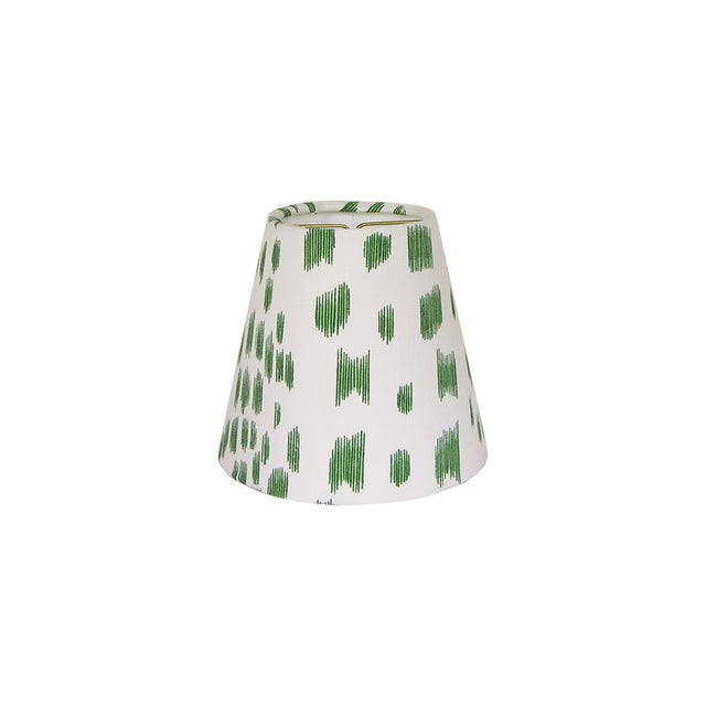 Contemporary Green Animal Print Sconce or Chandelier Shade For Sale - Image 3 of 3